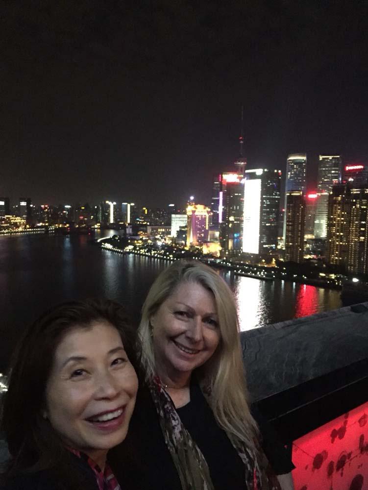 Shanghai on the bund