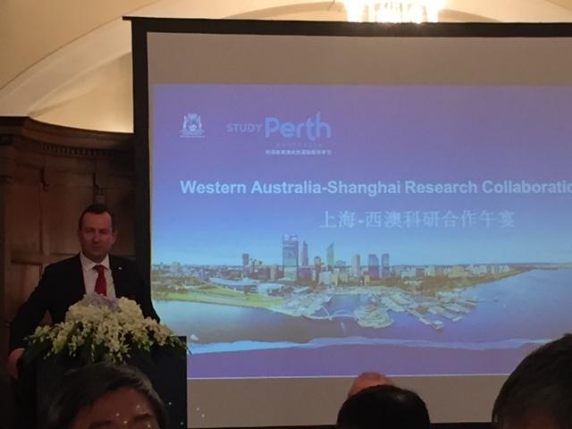 Presentation in Shanghai