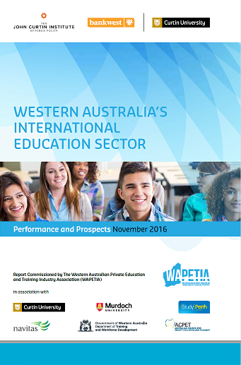 WA's International Education Sector: Performance and Prospects